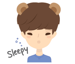 Deer Boy & friends sticker #1140851