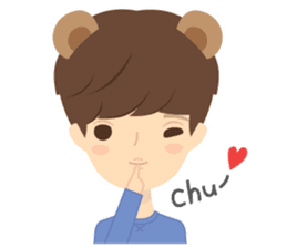 Deer Boy & friends sticker #1140853