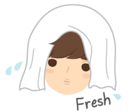Deer Boy & friends sticker #1140854