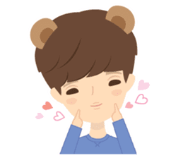 Deer Boy & friends sticker #1140857