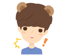 Deer Boy & friends sticker #1140859