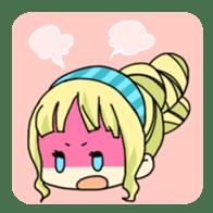40 Girls Sticker sticker #1140954