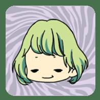 40 Girls Sticker sticker #1140961