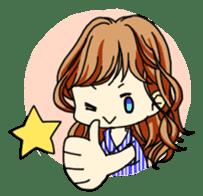 40 Girls Sticker sticker #1140962
