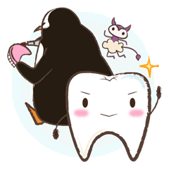 tooth,bug&penguin