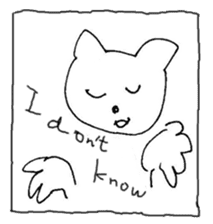 The interlude of the cat named RIN Fe/EV sticker #1142026
