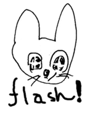 The interlude of the cat named RIN Fe/EV sticker #1142038