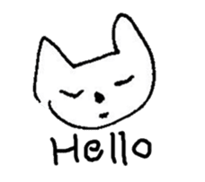 The interlude of the cat named RIN Fe/EV sticker #1142042