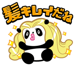 Positive panda sticker #1142852