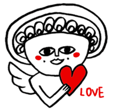 Love Love Angel sticker #1143067