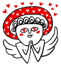 Love Love Angel sticker #1143069