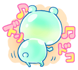 Bear of the jelly (Melon soda taste) sticker #1143236