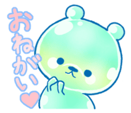 Bear of the jelly (Melon soda taste) sticker #1143237