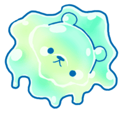 Bear of the jelly (Melon soda taste) sticker #1143244