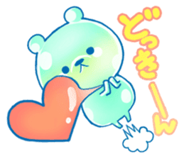 Bear of the jelly (Melon soda taste) sticker #1143250