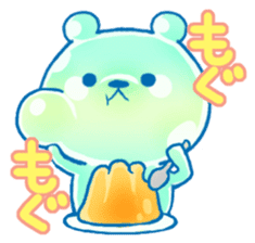 Bear of the jelly (Melon soda taste) sticker #1143252