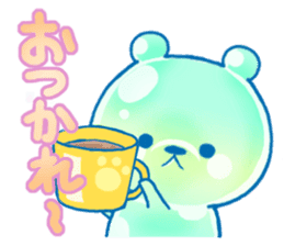 Bear of the jelly (Melon soda taste) sticker #1143255