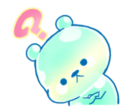 Bear of the jelly (Melon soda taste) sticker #1143260