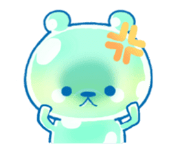 Bear of the jelly (Melon soda taste) sticker #1143264