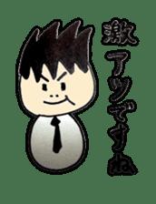 a office worker kokeshi doll sticker #1143346