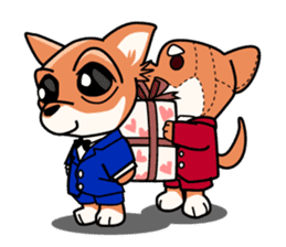 Cute Chihuahua sticker #1143795