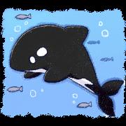 สติ๊กเกอร์ไลน์ orca_sticker