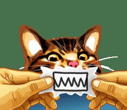 Meme The Cat sticker #1144909