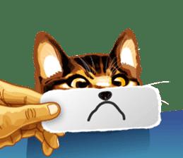 Meme The Cat sticker #1144910
