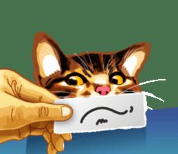 Meme The Cat sticker #1144912