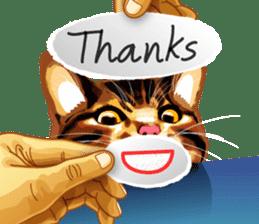 Meme The Cat sticker #1144916