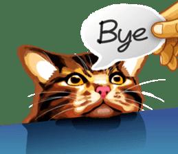 Meme The Cat sticker #1144917