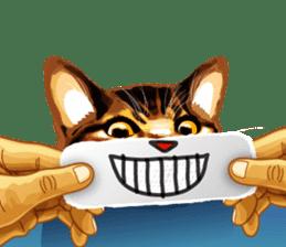 Meme The Cat sticker #1144919