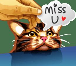 Meme The Cat sticker #1144930