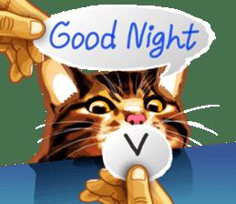 Meme The Cat sticker #1144933