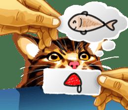 Meme The Cat sticker #1144939