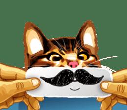 Meme The Cat sticker #1144944