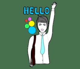 SURA salaryman sticker #1145626