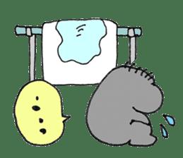 Five Yin and Yang theory - water sticker #1146120
