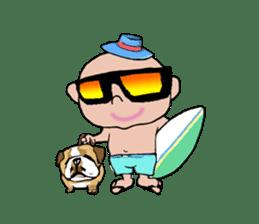 King Surf Boy sticker #1148208