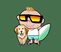 King Surf Boy sticker #1148209