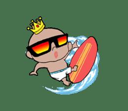 King Surf Boy sticker #1148219