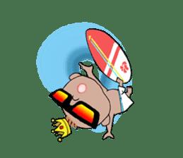 King Surf Boy sticker #1148220
