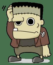 Mr. Frankenstein sticker #1151506