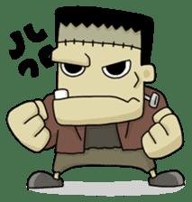 Mr. Frankenstein sticker #1151508