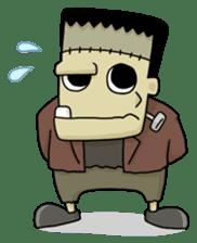 Mr. Frankenstein sticker #1151514