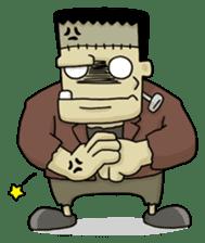 Mr. Frankenstein sticker #1151515