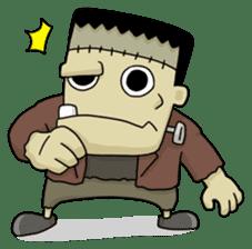 Mr. Frankenstein sticker #1151516