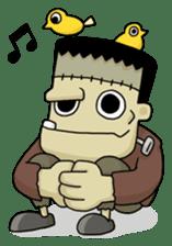 Mr. Frankenstein sticker #1151518