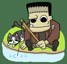 Mr. Frankenstein sticker #1151534