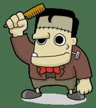 Mr. Frankenstein sticker #1151542